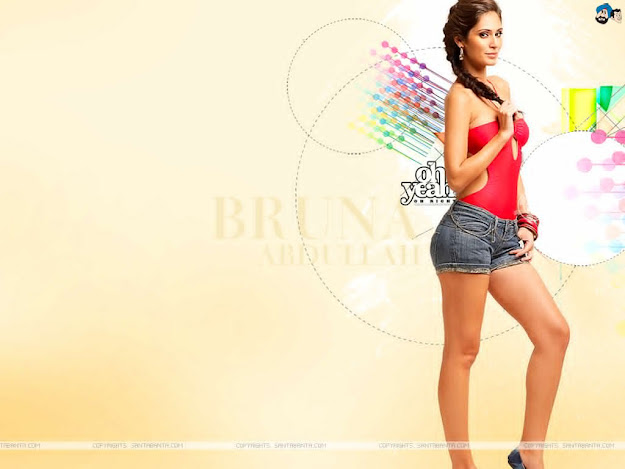 Bruna Abdullah Hot Wallpaper - SantaBanta