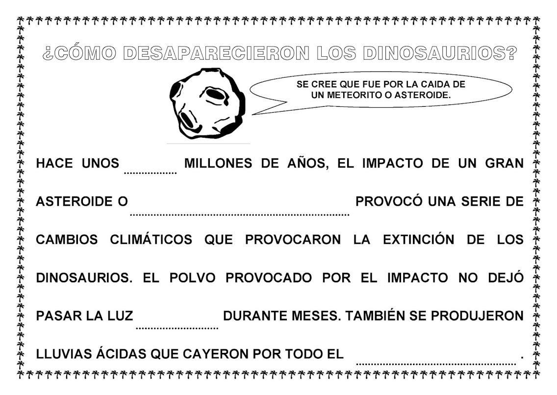 Asombroso Hojas De Trabajo De Dinosaurios Adorno - hojas de trabajo ...