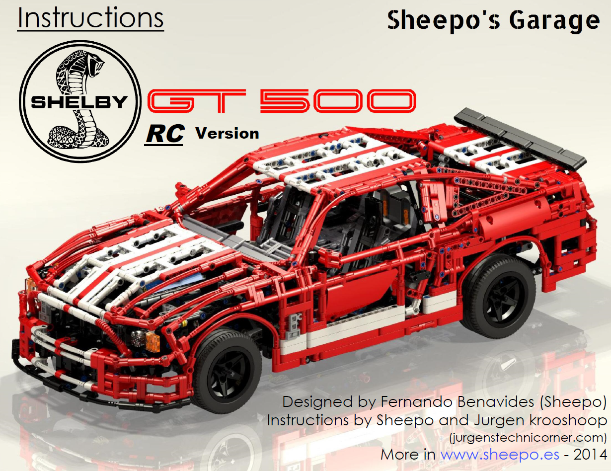 Mustang Shelby GT500 RC