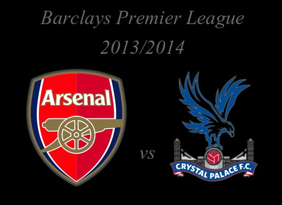 Arsenal vs Crystal Palace Barlays Premier League 2014