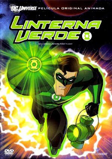 Green Lantern / Linterna Verde: Primer vuelo