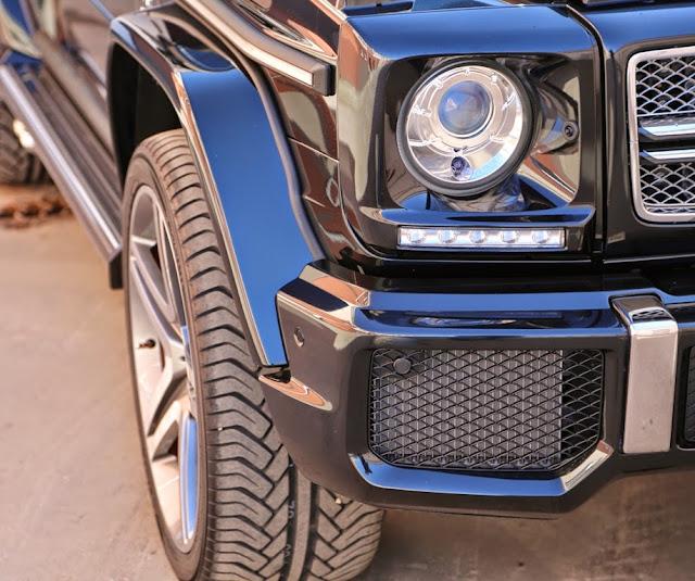w463 xenon headlights
