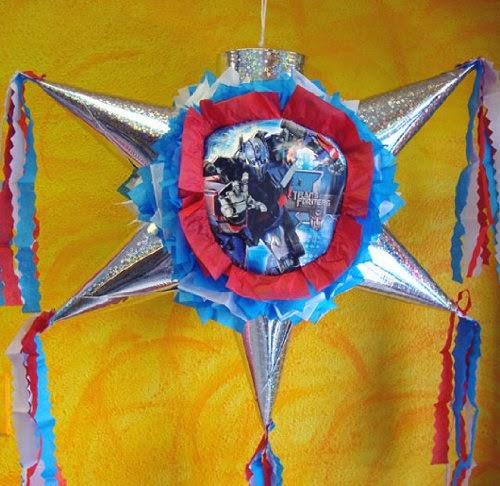 Piñatas de Transformers, parte 1