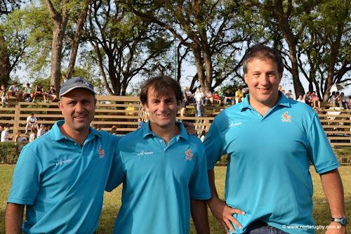 Alejandro Molinuevo, Diego Ternavasio y José Macome