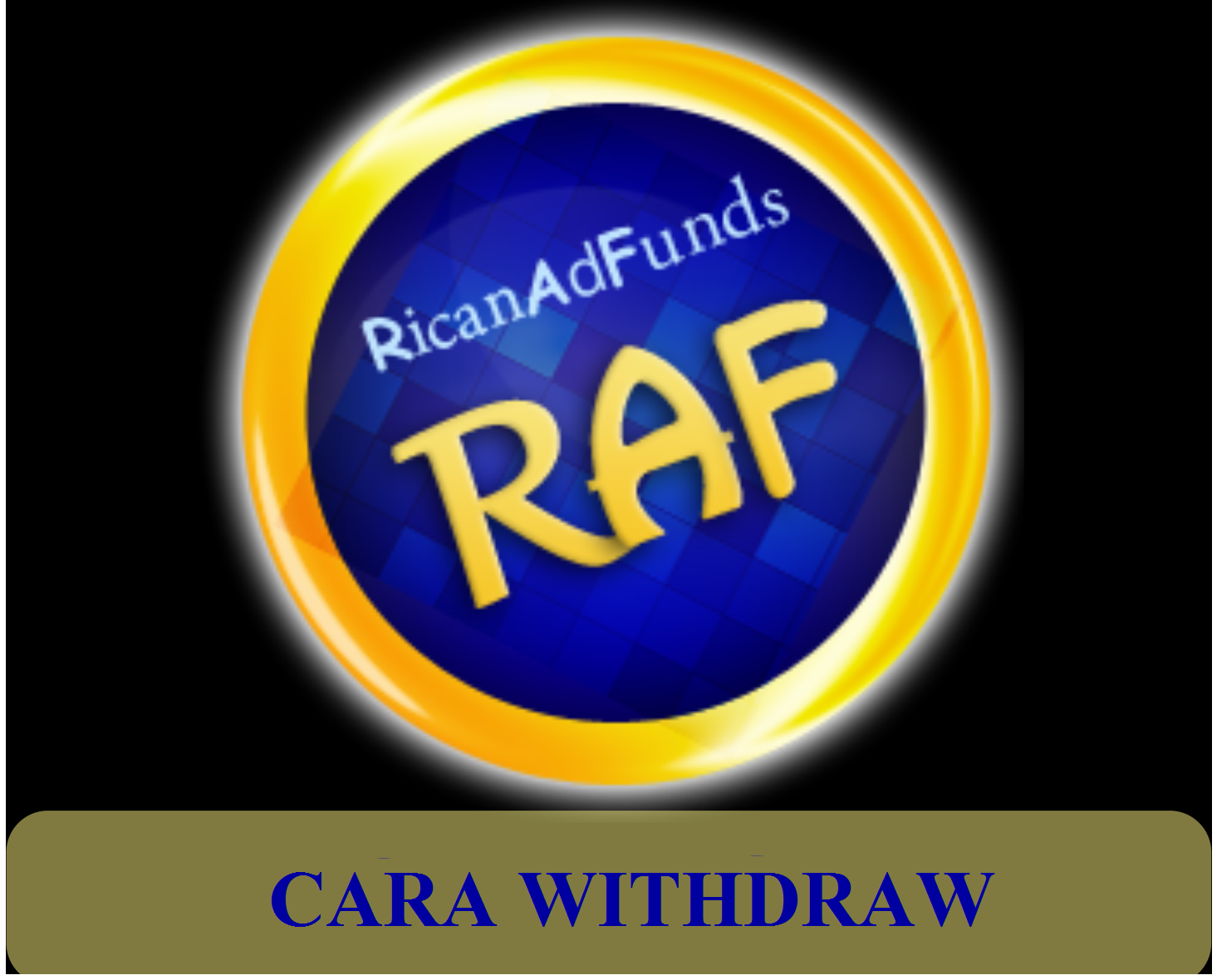 Cara withdraw