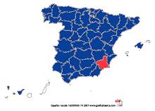 Lugares de España que he visitado