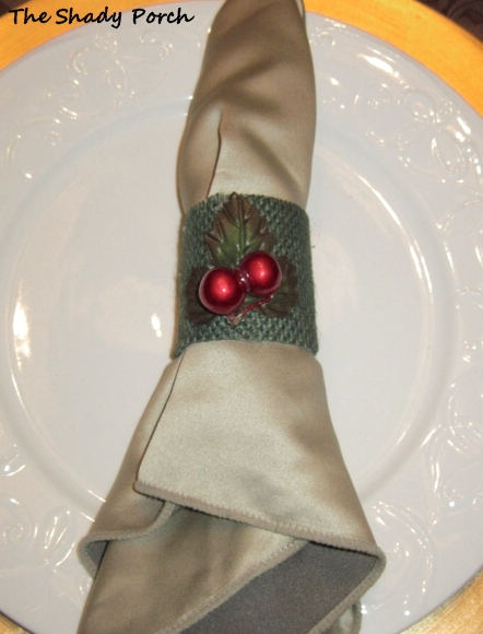 Paper Towel & Toliet Paper Roll Napkin Rings