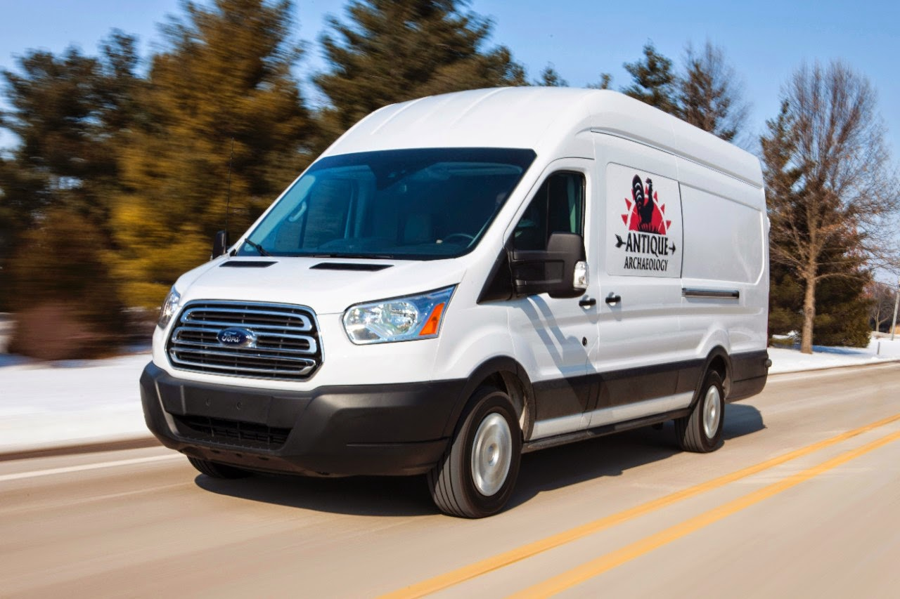 Ford transit joins the cast of history s hit series american pickers