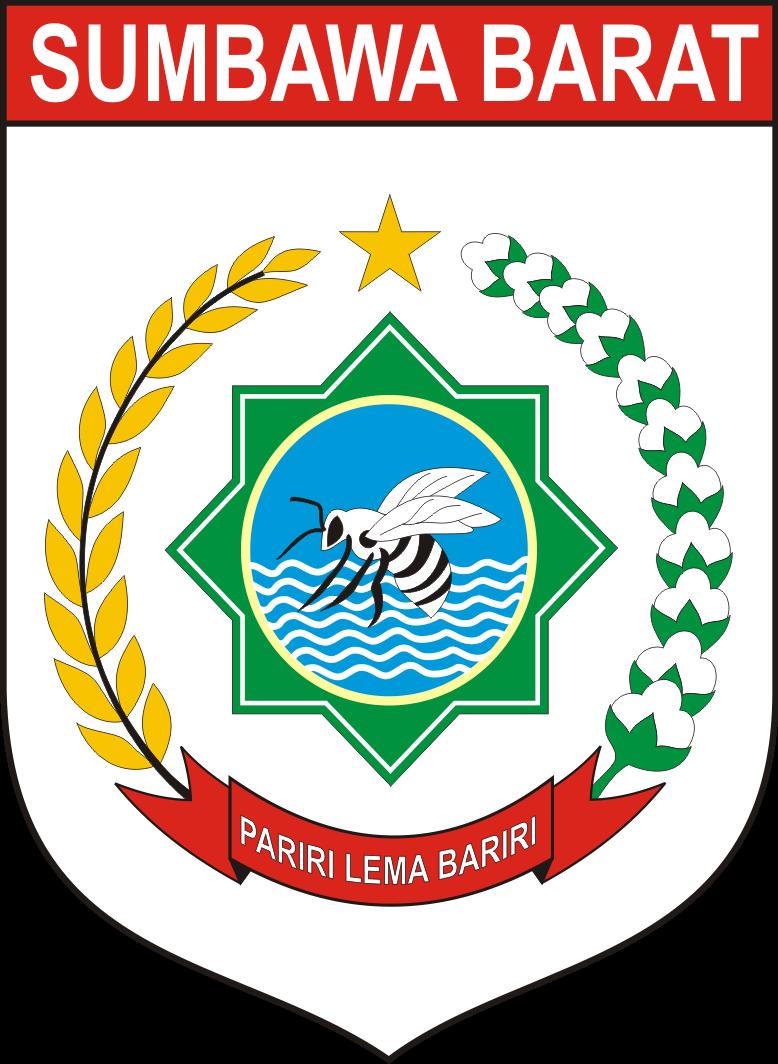 logo kabupaten sumbawa barat logo lambang indonesia