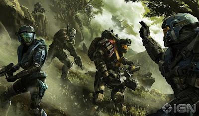 Halo New Wallpaper Art Poster - HD | Zeromin0