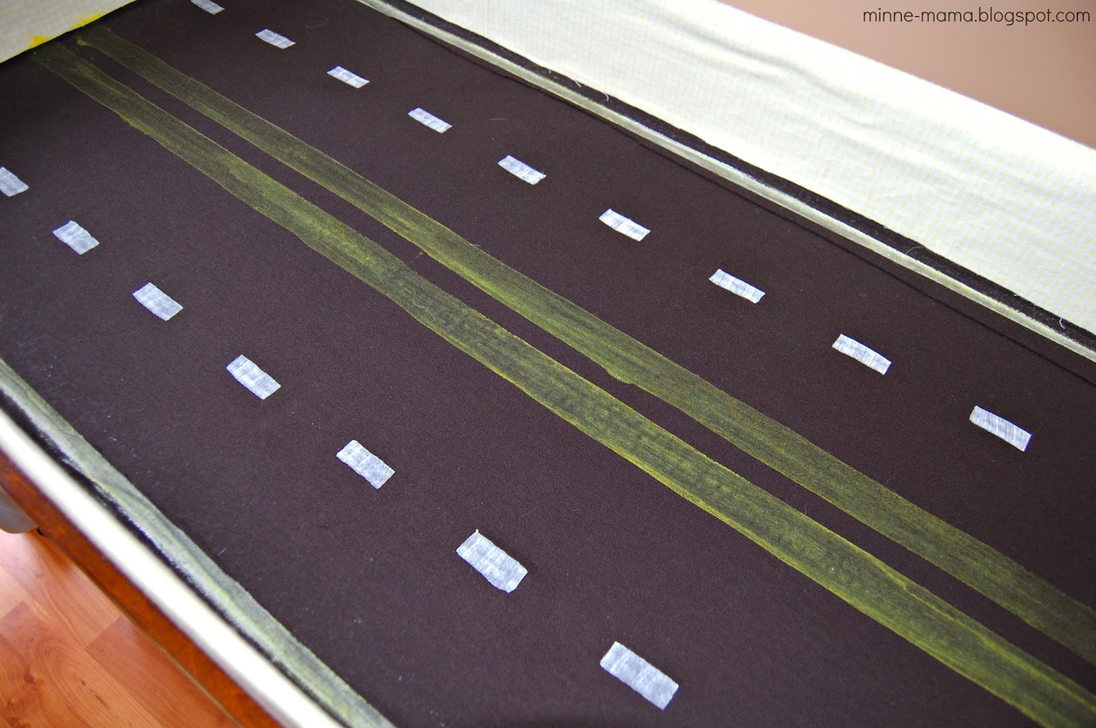 Fabric Roads For Toy Cars : Minne mama toy car storage and play mat