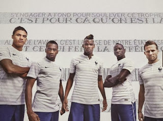 Le maillot de la France (Exterieur) de la Coupe du monde 2014