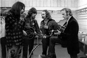 Crosby, Stills, Nash and Young.