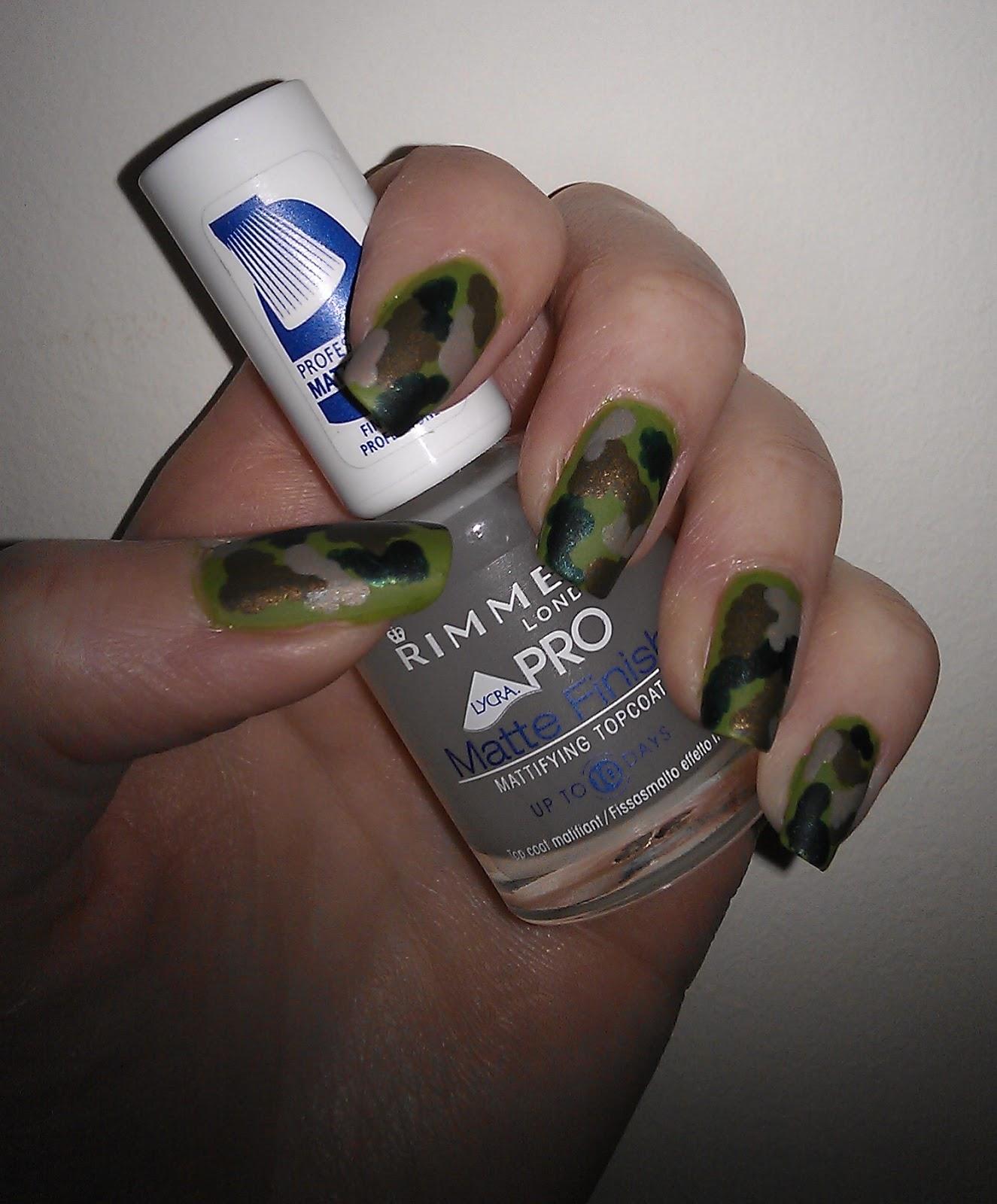 Nail Designs Camo | Nail Art Designs