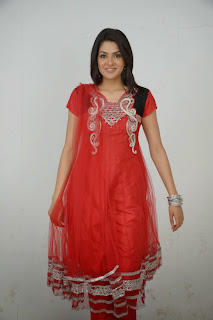 Actress Sakshi Choudhary Latest Picture Gallery in Red Salwar Kameez 0030.JPG