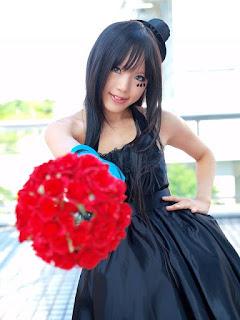 K-On! Akiyama Mio Cosplay by Kipi