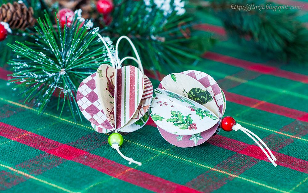 подвески на елку, подвески из кружков, круглая новогодняя игрушка, своими руками на елку, подарок своими руками, своими руками новогоднее,