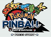 Pokemon Pinball Ruby y Sapphire Online [GBA]