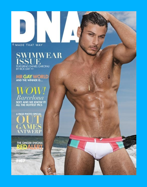 Daniel Garofali by Rick Day for DNA Magazine Swimwear Issue 2013