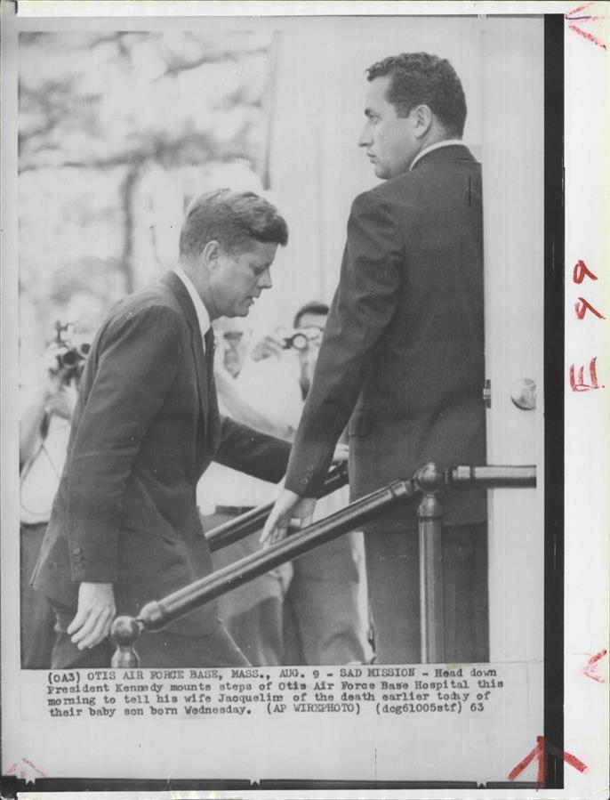 SA Clint Hill with JFK 8/9/63