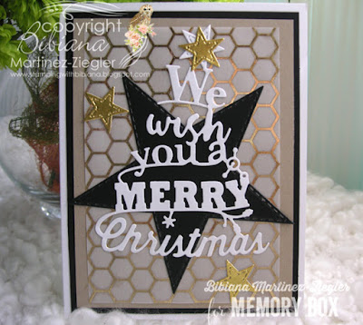2 Christmas Card Versions using the Same Color Combo star