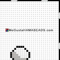 plantillashamabeads