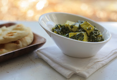 Saag Paneer with Feta