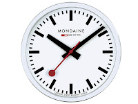 Mondaine Railroad Iconic Clock