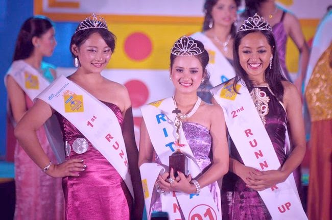 miss teen nepal 2014 ritika, samana and malisha