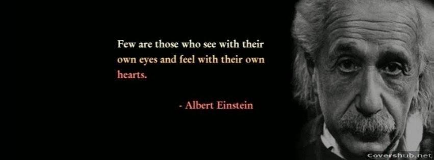 Albert Einstein Facebook Covers