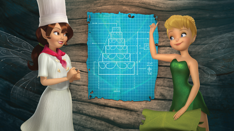 Pixie Hollow Bake Off Tink