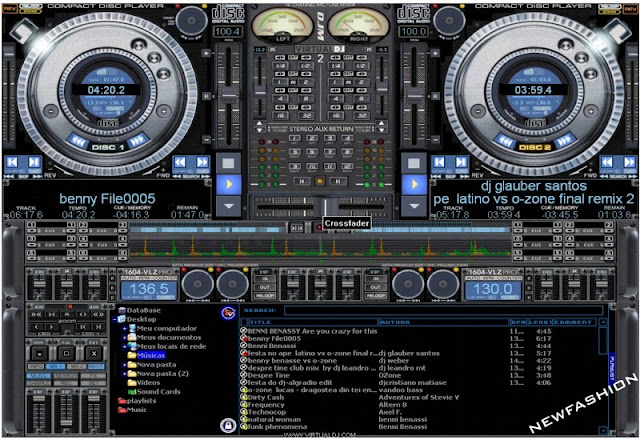 Atomix Virtual DJ 7 Screenshot