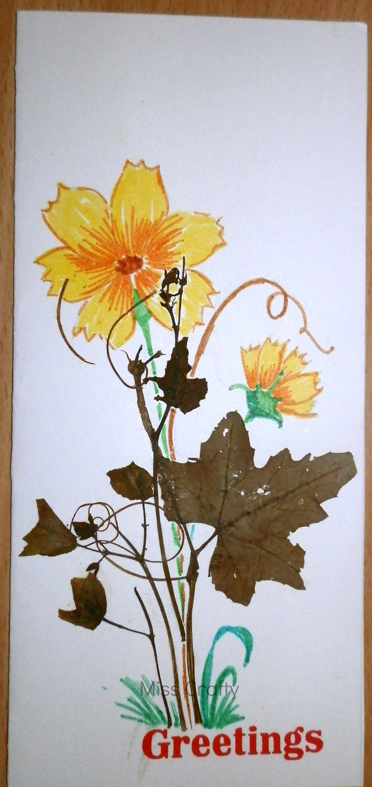 The Craft Gallery Pressed Flowers Greeting Cards Part 1
