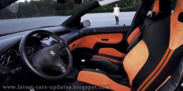Peugeot 206 SW inner view