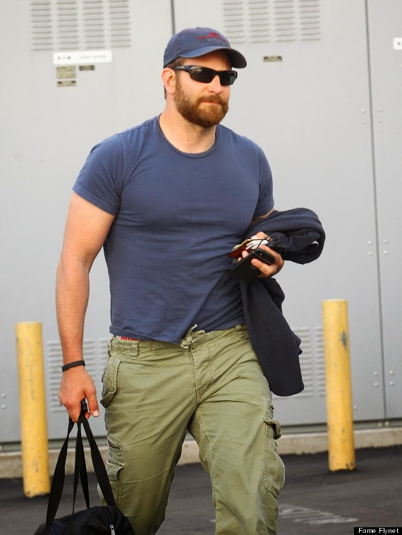 Chatter Busy: Bradley Cooper Gains 40 Pounds And A Beard ...