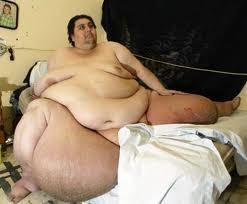 orang paling berat di dunia,manusia terberat,manusia obesiti