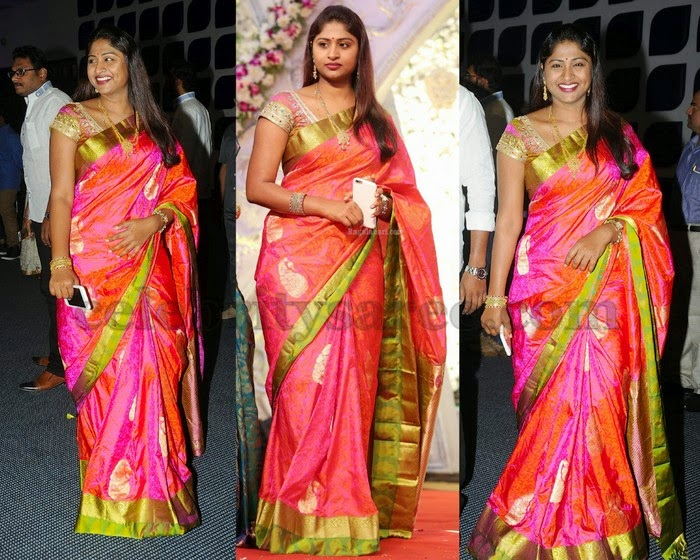 Actress Nirmala Kanjivaram Saree