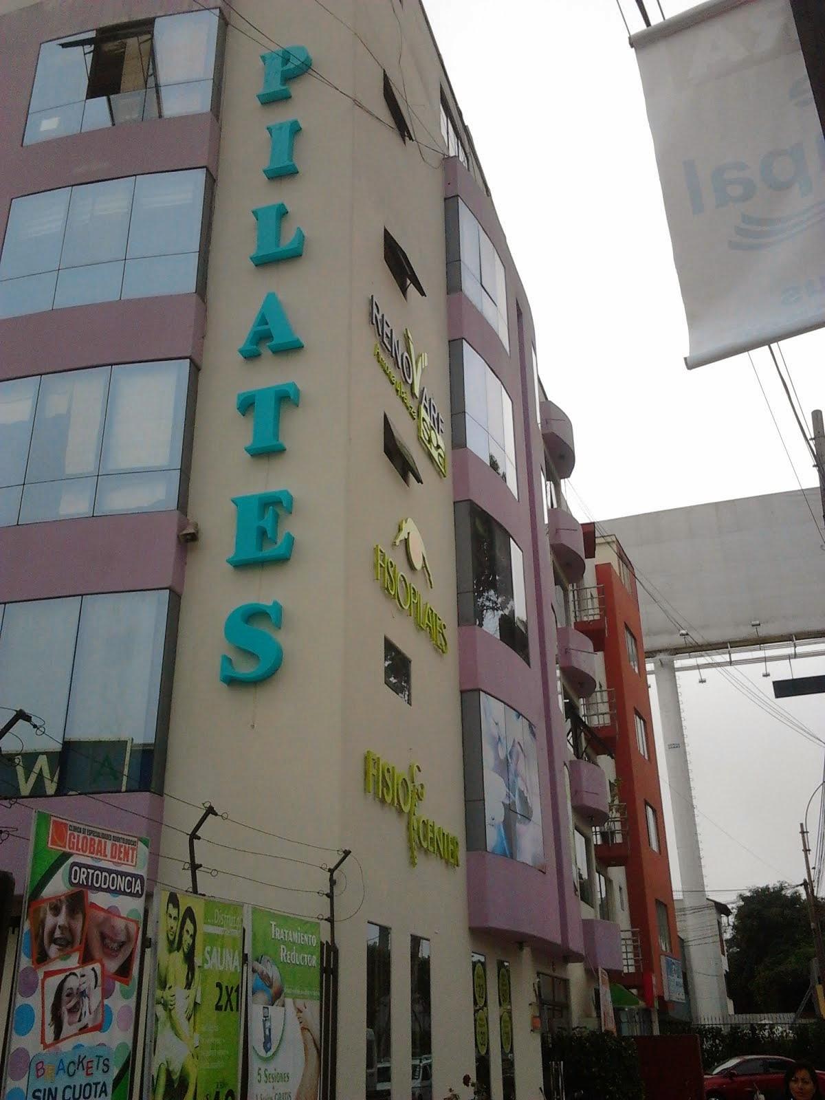 pilates - LETRAS ACRILICAS
