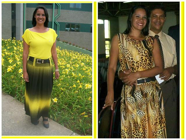 Look amarelo - belanaselfie