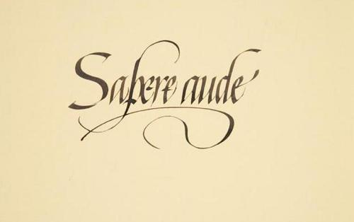 Sapere Aude Tattoo Pictures to Pin on Pinterest - TattoosKid