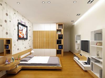 nội thất chung cư mini thái thịnh