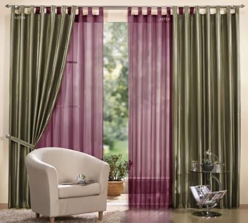D coration lisse et simple pour rideaux int rieur d cor for Decoration pour rideau