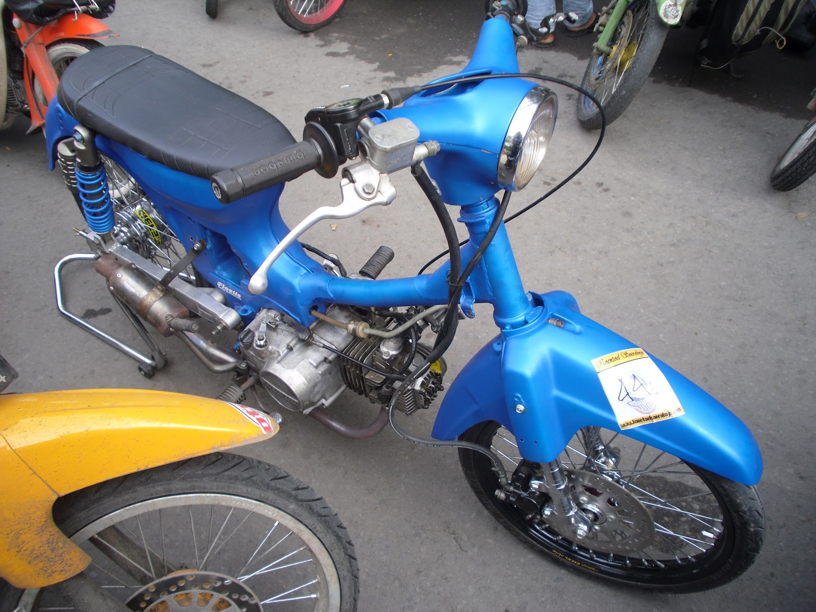 Kejuaraan Dragbike Honda C70 Brotherhood CUB Owner Jember BCOJ