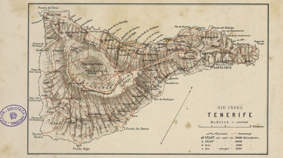 La mejor cartografía de las islas.