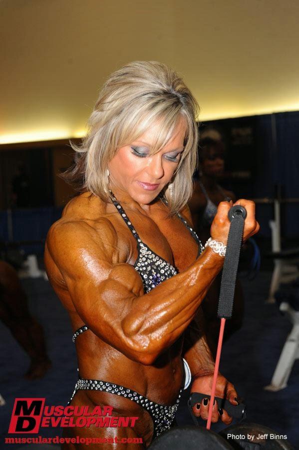 the female bodybuilder lisa aukland