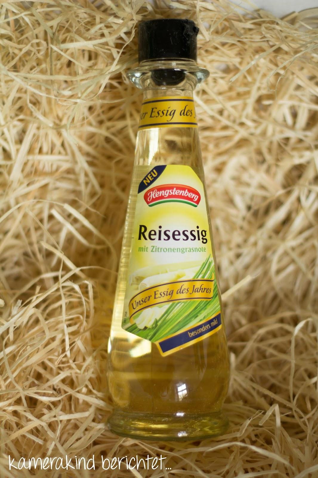 Hengstenberg Reisessig mit Zitronengrasnote