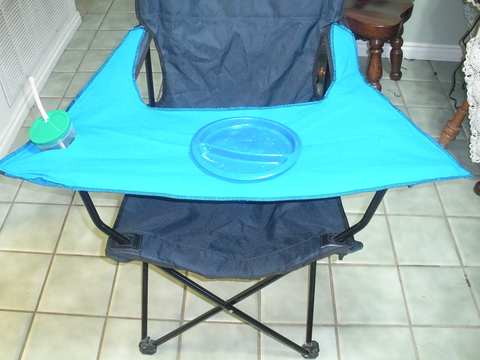 Life With The Anderson Diy Camping High Chair