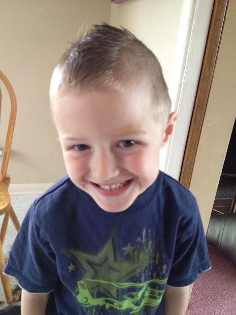 crafty kris little boy mohawk