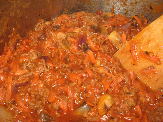 meat in sauce for lasagne
