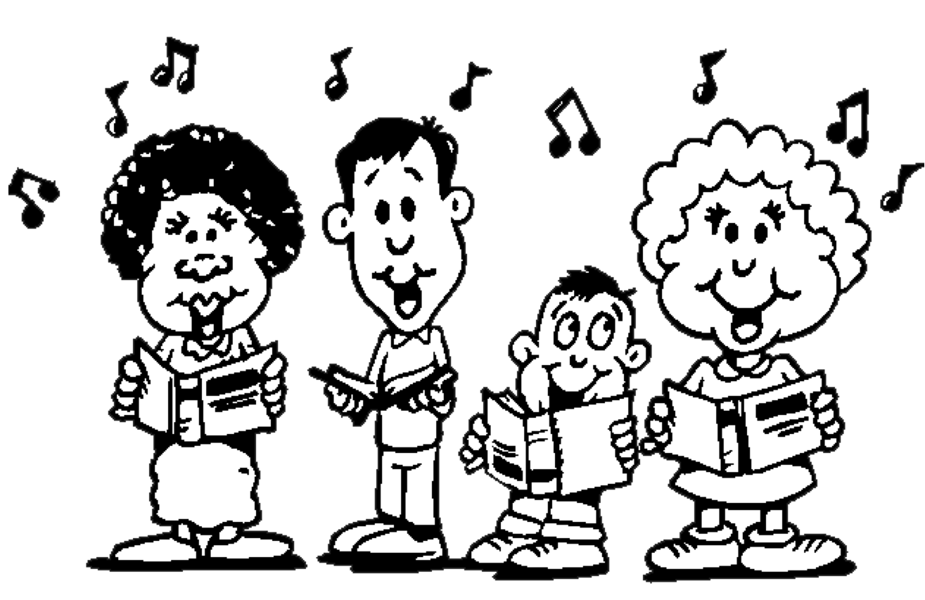 sing clip art exclusive music